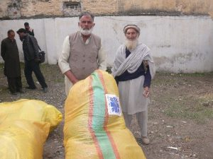 Old beneficiaries receiving relief package